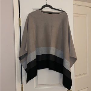 Ann Taylor Chic Poncho Sweater